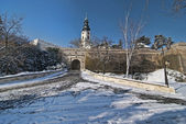 Nitra castle in Winter — Stock Photo