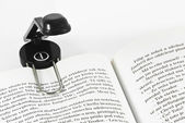 Mini reading lamp — Stok fotoğraf