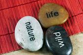 Decorative stones — Stock Photo