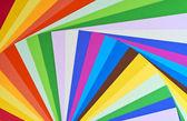 Paper rainbow — Stock Photo