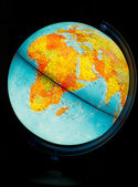 Illuminated Globe — Stock Photo