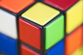 Detail of Rubik's Cube — Stock Photo