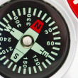 Detail of compass — Stock Photo