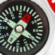 Royalty-Free Stock Photo: Detail of compass