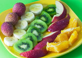 Fruit plate — Stockfoto
