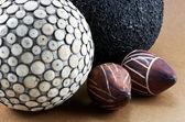 Image of divers decorative balls — Stock Photo