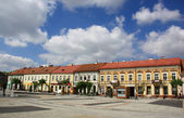 Sieradz, cidade velha, — Foto Stock