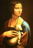 Da Vinci,ermine — Stock Photo