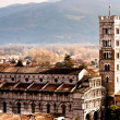 Sight of Lucca Cathedral — Stock Photo