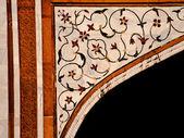 Spandrel detail with pietra dura decoration — Stock Photo
