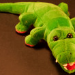 Crocodile puppet — Stock Photo