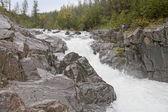 The river in rocks — Stock Photo
