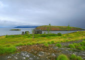 Northern island — Stock Photo
