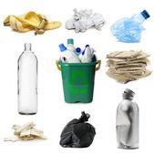 Coleta de lixo — Foto Stock