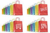 Shopping bags — Stock Photo