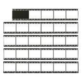 Fotografické filmy — Stock fotografie