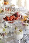 A buffet — Foto Stock