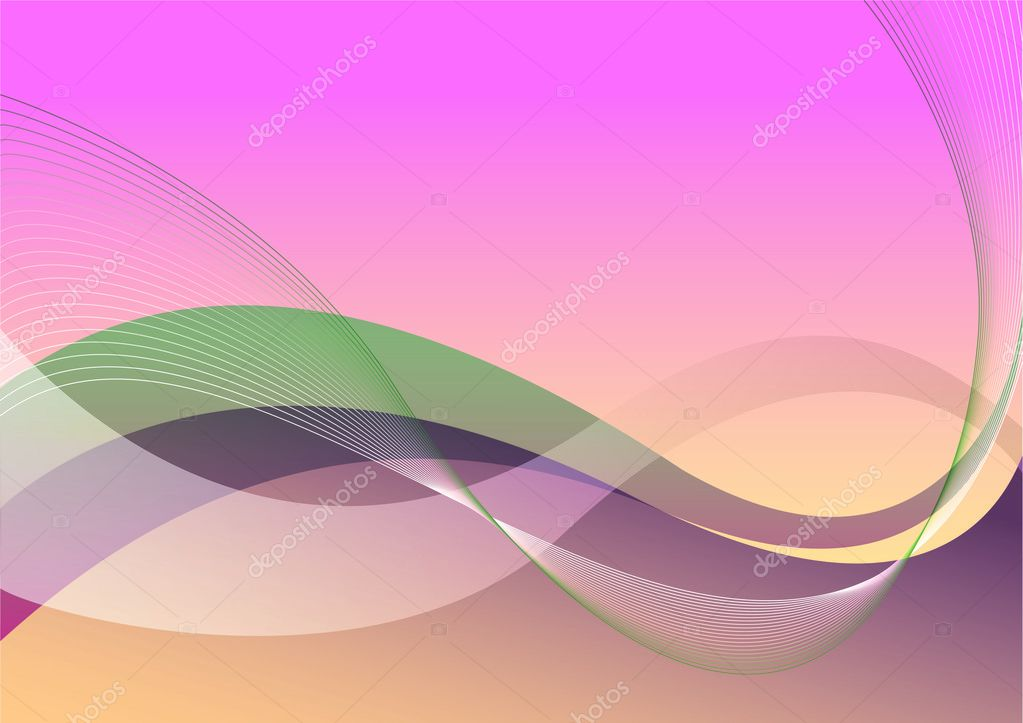 Abstract background waves — Stock Vector #8477710