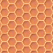 Honey texture — Vettoriali Stock