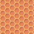 Stock Vector: Honey texture