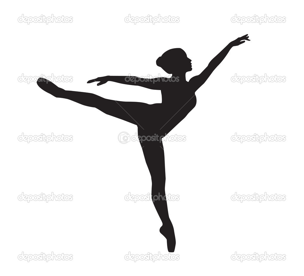 dancing girl silhouette - photo #29