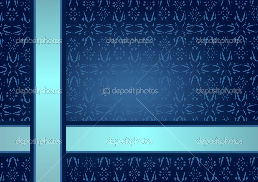 Blue wallpaper — Stock Vector #9710837