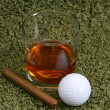Stock Photo: Whiskey & Cigar