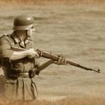 German soldier — Stock Photo #8363709