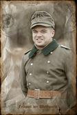 Duitse soldaat — Stockfoto