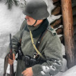 Arctic 1943. German — Foto de Stock