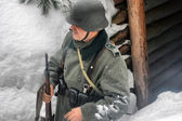 Arctic 1943. German — Stock Photo