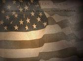 United States Declaration of Independence — Stock Photo