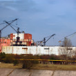 Chernobyl nuclear power plant — Foto Stock