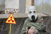 Nuclear tourist — Foto Stock