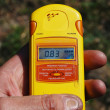 Radiation measurment. - Stock Photo