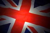 Bandeira britânica — Foto Stock