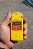 Radiation measurment. — Stock Photo