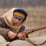 Russian Civil War 1918 — Stock Photo #8587935