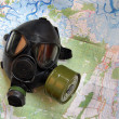 Stock Photo: Map of Chernobyl.