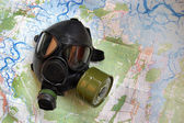 Mappa di chernobyl. — Foto Stock