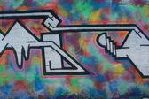Graffiti on a wall — Stockfoto