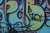 Graffiti on a wall. — Stockfoto