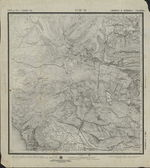 Old Russian topographic map — Stock Photo