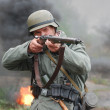 German soldier - Stock Photo