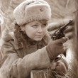 Girl of WWII — Stock Photo #9160099