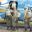Paratrooper - Stockfoto