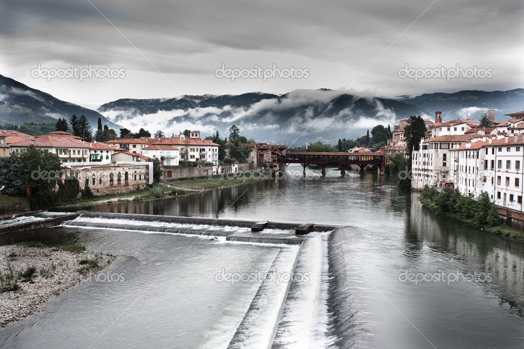 Bassano del grappa stock photo 8370651 for Arredamento bassano del grappa