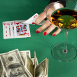 Poker night — Stock Photo