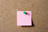 Roze Opmerking — Stockfoto