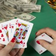 Poker ace - Stock Photo